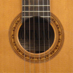 Hauser model negra flamenco guitar