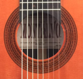 Casa Montalvo 8 String Classical Guitar with Cutaway
