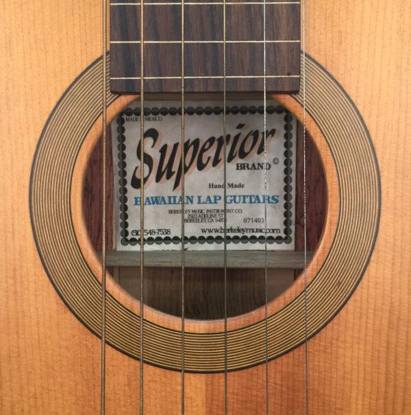 Superior Hawaiian Lap Steel Guitar