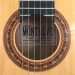 Casa Montalvo Hauser Sr. Model Flamenco guitar With pegs 2004
