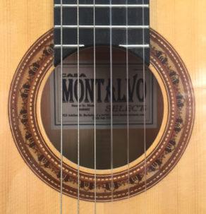 Casa Montalvo Hauser Sr. Model Flamenco guitar With pegs 2004