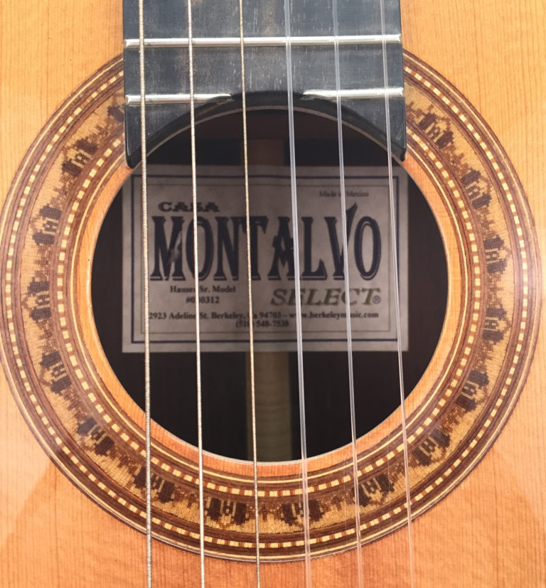 Montalvo Hauser Senior Model Flamenco With Ebony Pegs 2003