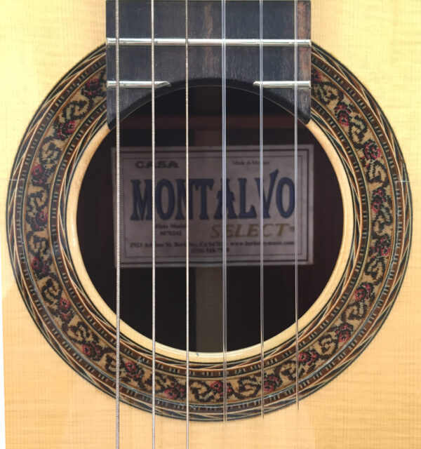 Casa Montalvo Fleta Model Negra Flamenco 2002