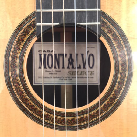 Casa Montalvo Hauser Model Negra Flamenco Guitar 2003
