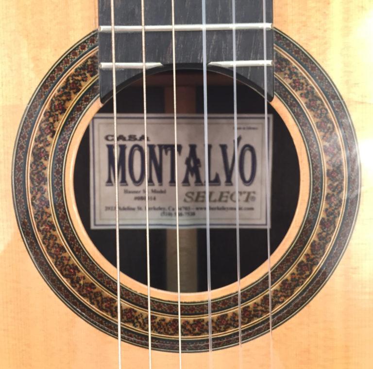 Casa Montalvo Hauser Model Negra Flamenco Guitar 2003
