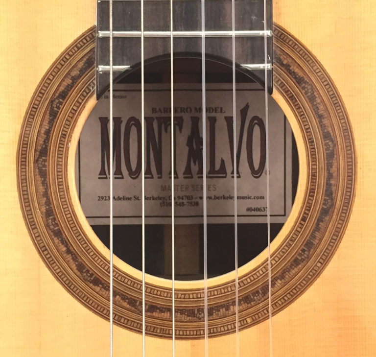 Casa Montalvo Barbero Model Classical Guitar 2006