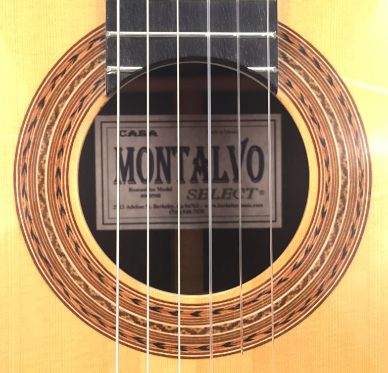 Casa Montalvo Romanillos Model Classical Guitar, 2005