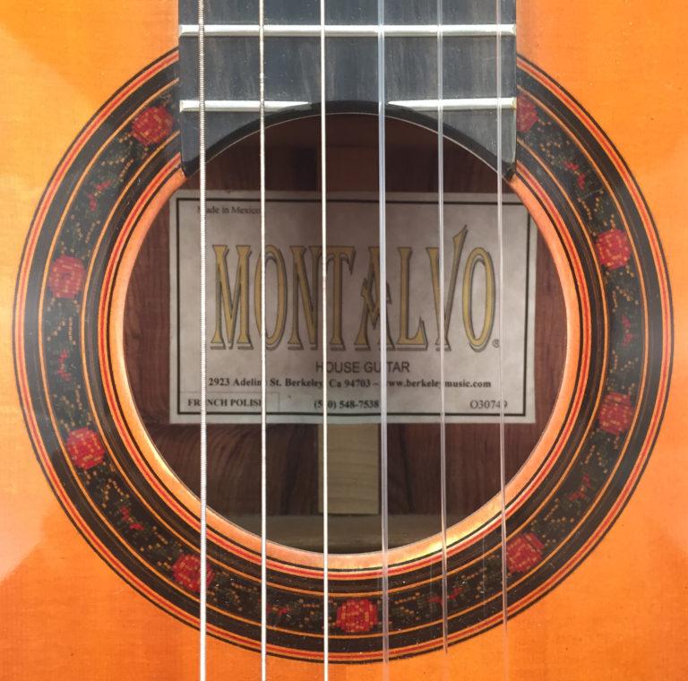 Montalvo Hauser Model House Guitar French Polish Palo Escrito Classical Guitar