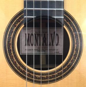 Casa Montalvo Hauser Model Classical Guitar 2006