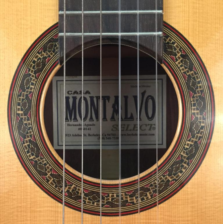 Casa Montalvo Hernandez-Aguado Model Flamenco Guitar 2001