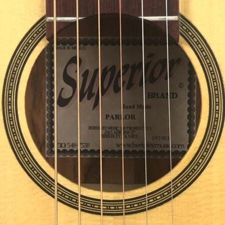 Superior Parlor Guitar, 2019